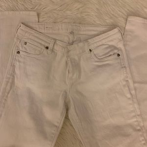 Kut from the Kloth Jeans - KUT Katy Boyfriend White Jeans Size 6